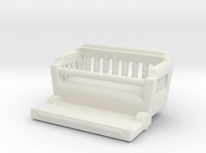 Conderman seat HO scale 3d printed
