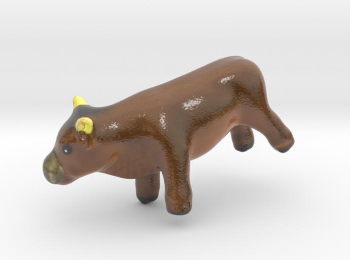 The Bull-mini 3d printed