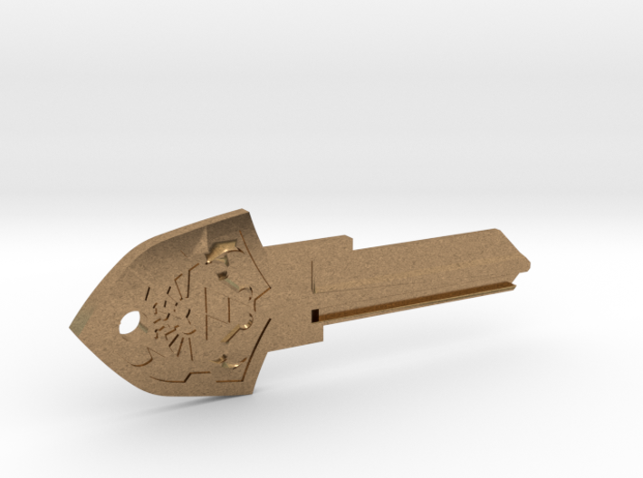 Zelda Shield House Key Blank - KW11/97 3d printed