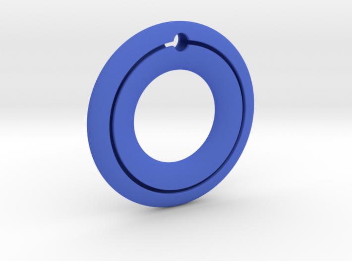 Pendant01-Slot 3d printed