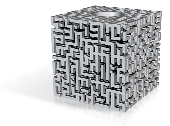 Maze Pen Stand 3d printed