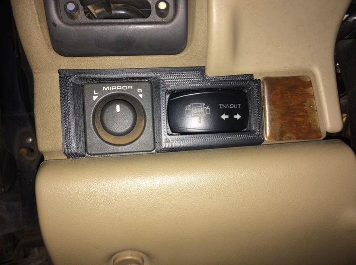Land Rover Discovery 1 carling mirror switch  3d printed