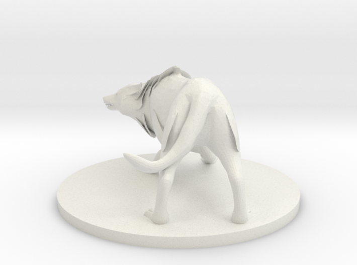 Winter Wolf 3d printed