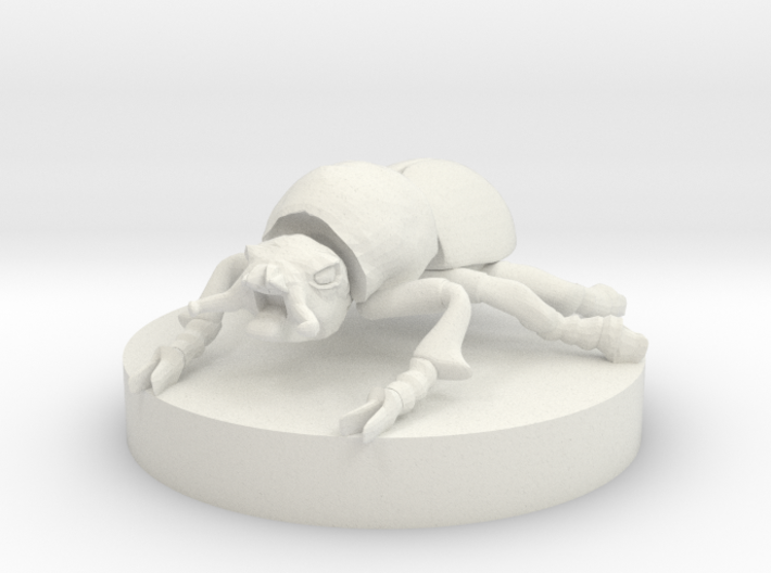 Giant Fire Beetle 3d printed