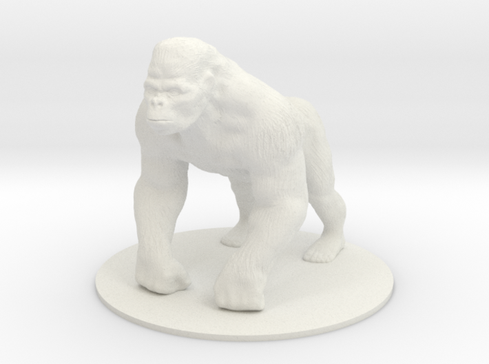 Giant Ape 3d printed