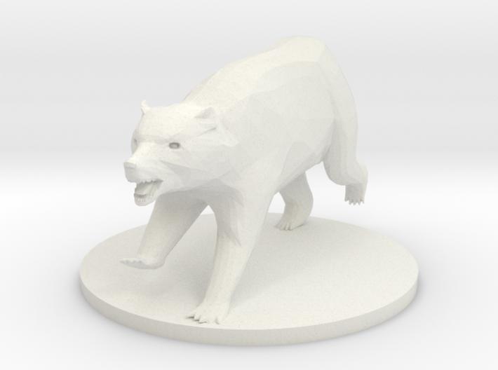 Brown Bear 3d printed