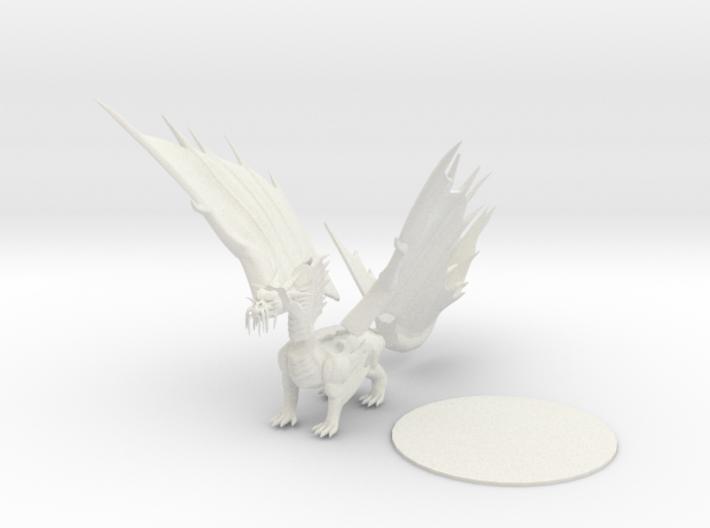 Gold Dragon 3d printed