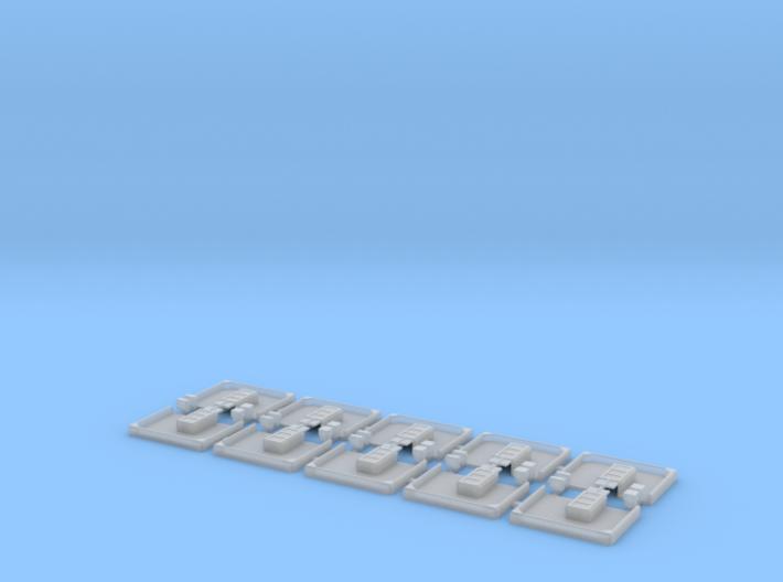 Weichenantriebsattrappe Spur N 3d printed