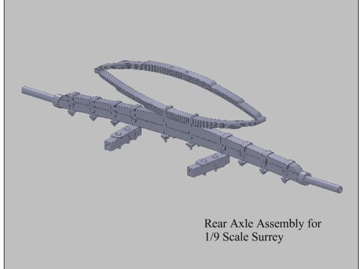 9th Scale Surrey Rear Axle 3d printed