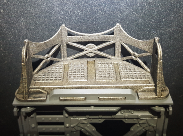 Hive Balcony V1 3d printed Painted for use
