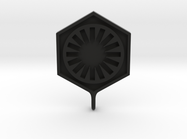 First Order Pendant 3d printed