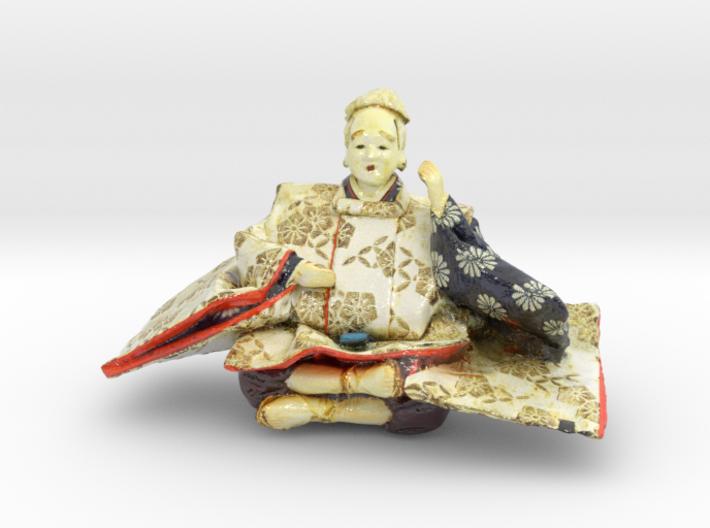 The Japanese Hina doll-4-mini 3d printed