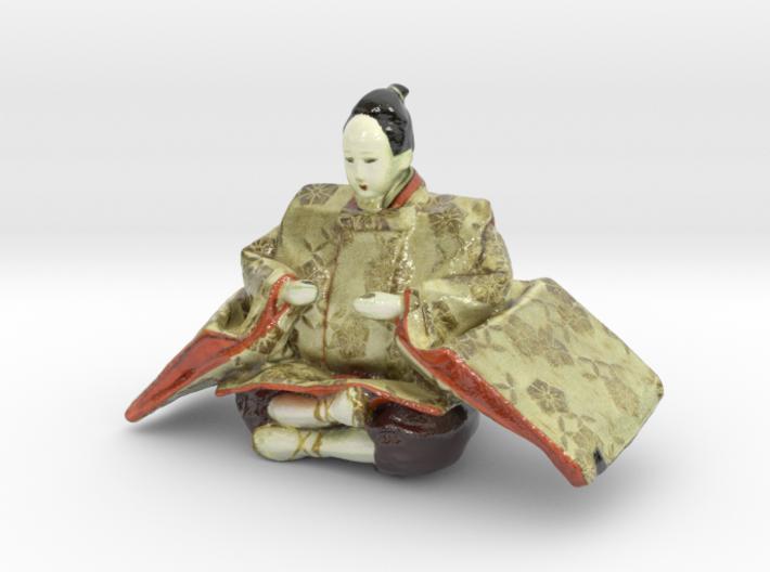 The Japanese Hina Doll-6-mini 3d printed