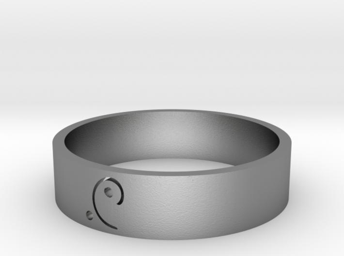 Moon-glyph-energy-ring 3d printed