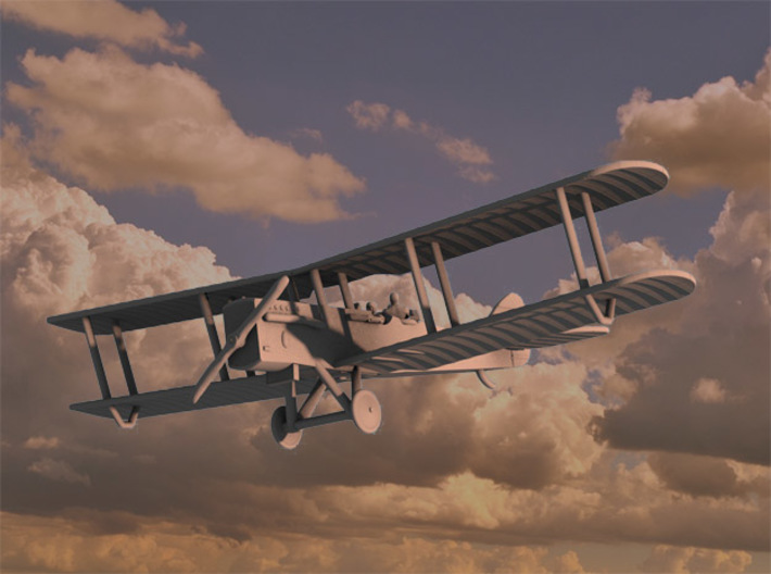 Airco D.H.9A (various scales) 3d printed Computer render of 1:144 DH9A