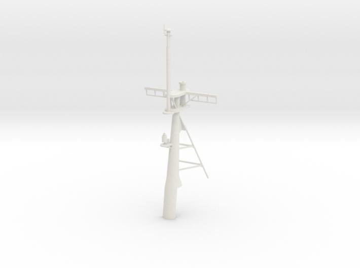 1/96 scale Hamilton Mast - Rear 3d printed