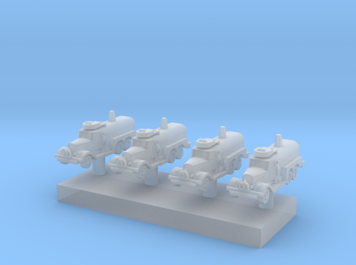 1:600 Scale USAAF Fire Tender Class 150 3d printed
