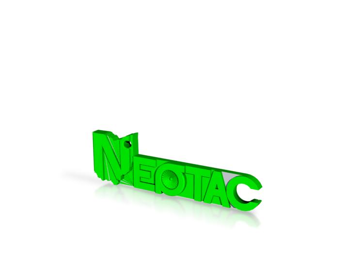 Neotac 3d Keychain Justyn 3d printed