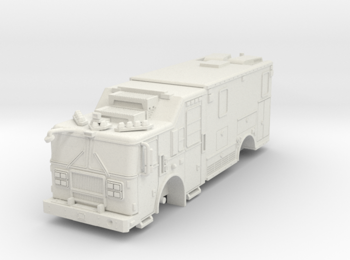 1/64 FDNY seagrave communication truck 3d printed