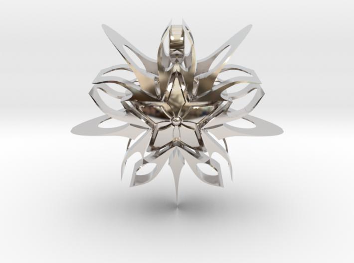 Devious Star Pendant v1 3d printed