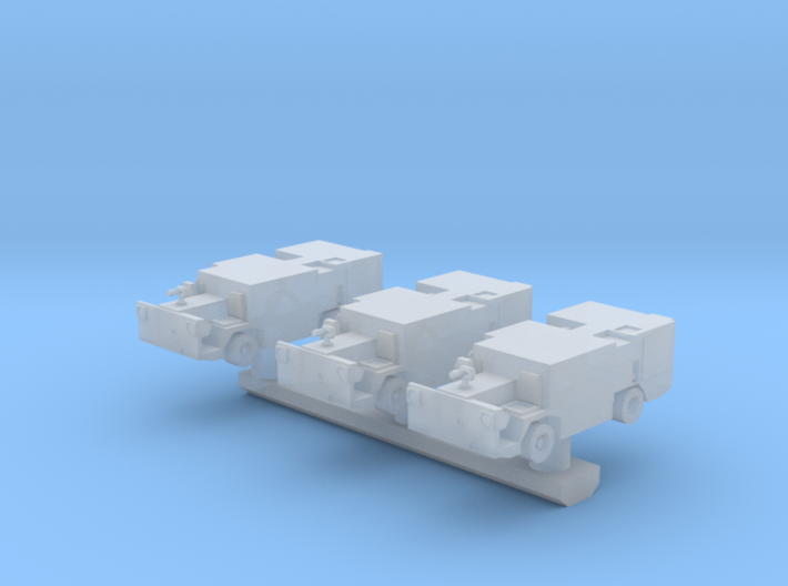 1:200 Scale P-25 Aircraft Carrier Fire Truck 3d printed