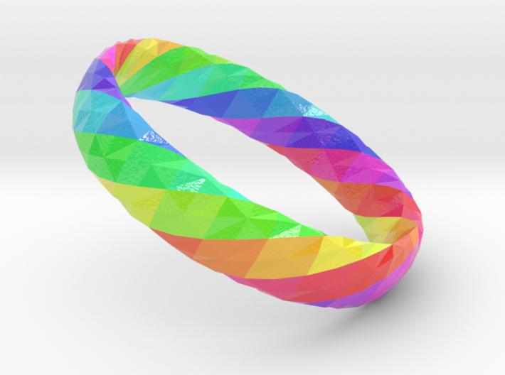 Twistium - Bracelet P=160mm h15 Color 3d printed