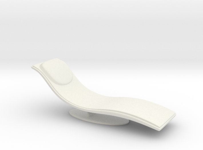1/32 Girl sitting Chair Part of Chair 017-20 3d printed
