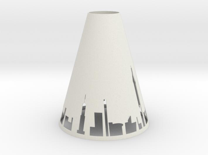 Pendant Light NYC 3d printed