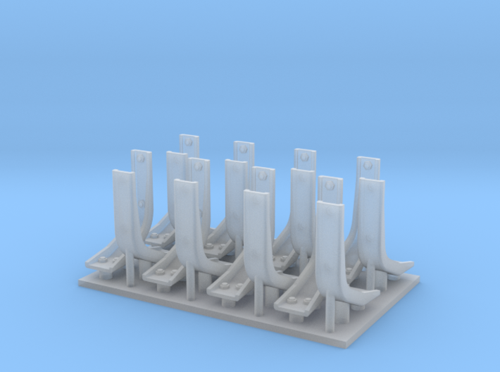 Panther Fender Braces Economy Pack 3d printed