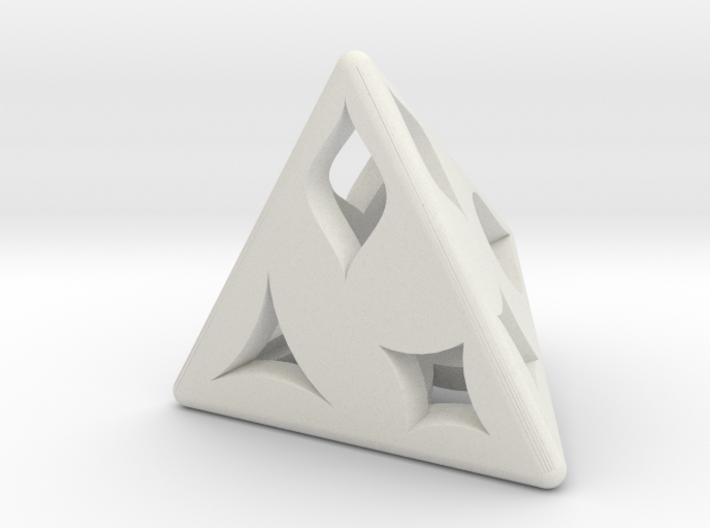 D4 Shape Die 3d printed