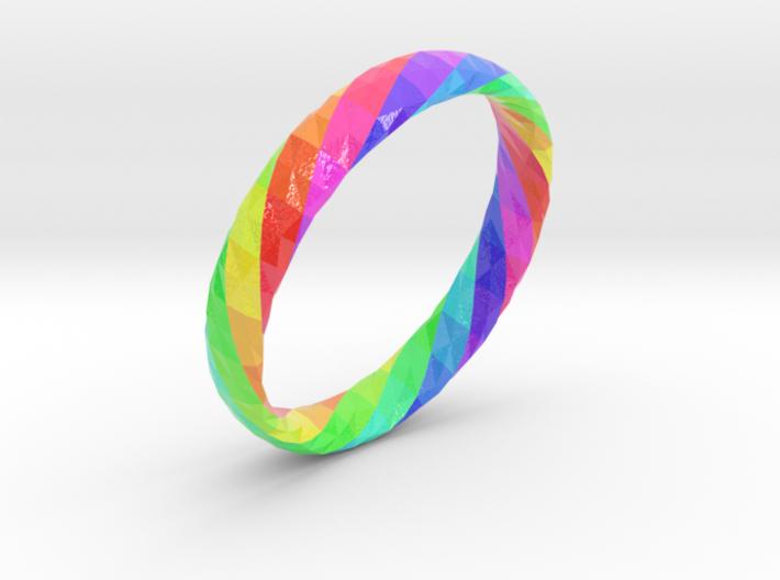 Twistium - Bracelet P=190mm h15 Color 3d printed