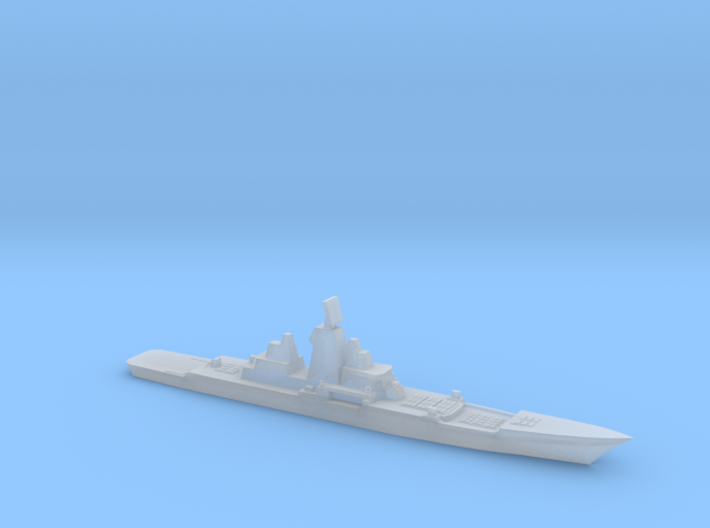 Hypothetical Chinese mod of BC Kirov, 1/6000 3d printed