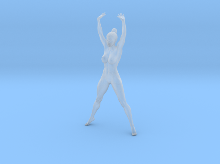 1/24 Fitness Girl 002 3d printed