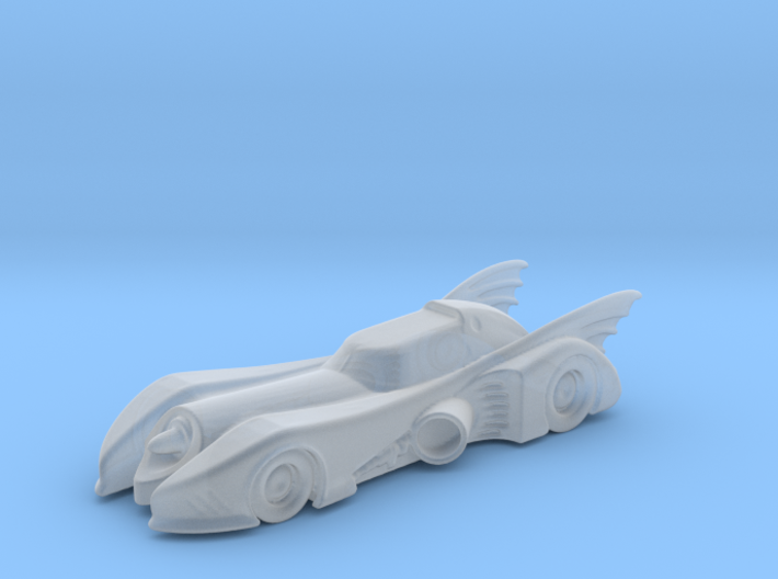 Batmobile N Scale 3d printed