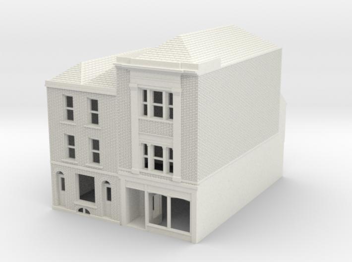 RHS-7-8 N Scale Rye High Street building 1:148 3d printed