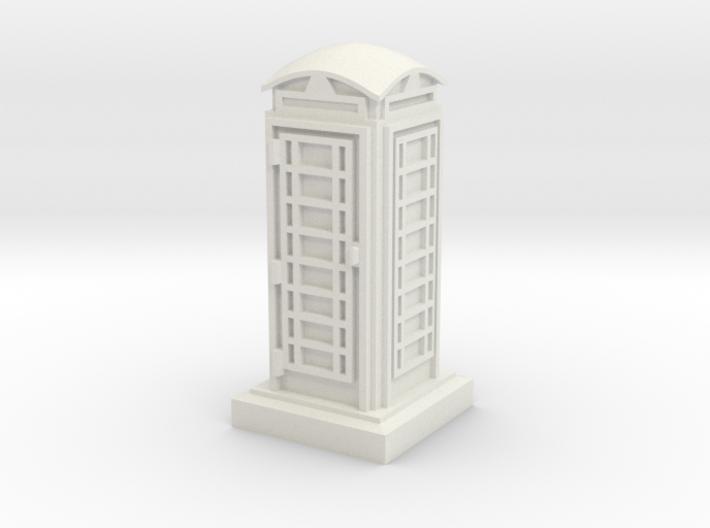 N Gauge Phone Box 3d printed