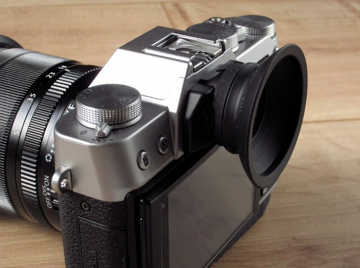 Eyecup Adapter for Fuji X-T10 V2 3d printed