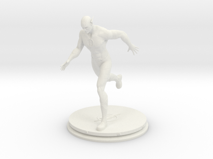 The Flash Statue (15cm) 3d printed