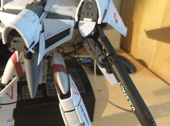 Perfect Hands for VF-4G 3d printed