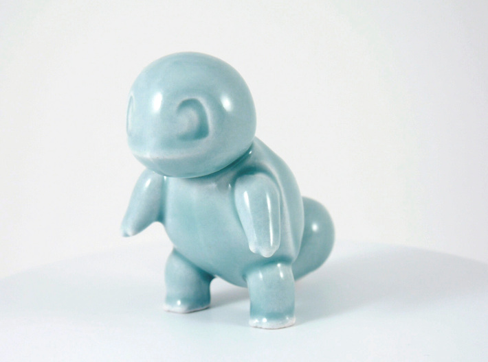 Ceramic Squirtle pencil holder 3d printed