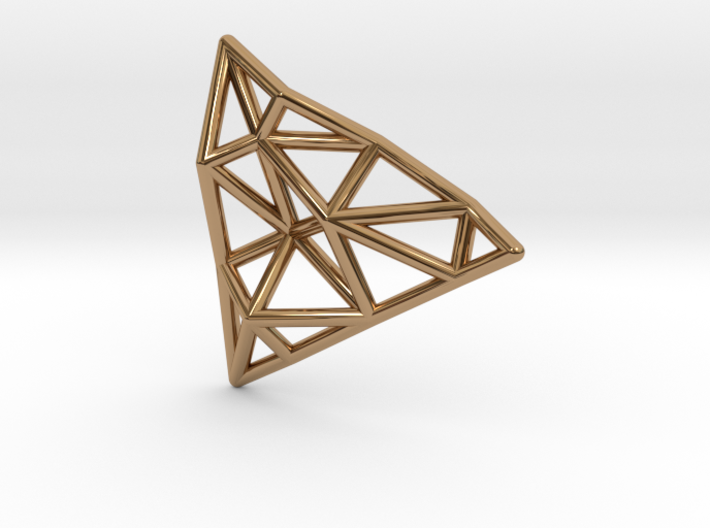 Tessellate Pendant — DATA IN EXILE 3d printed