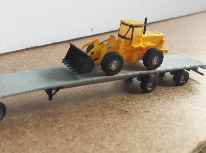 Caterpillar T530 N Scale 3d printed