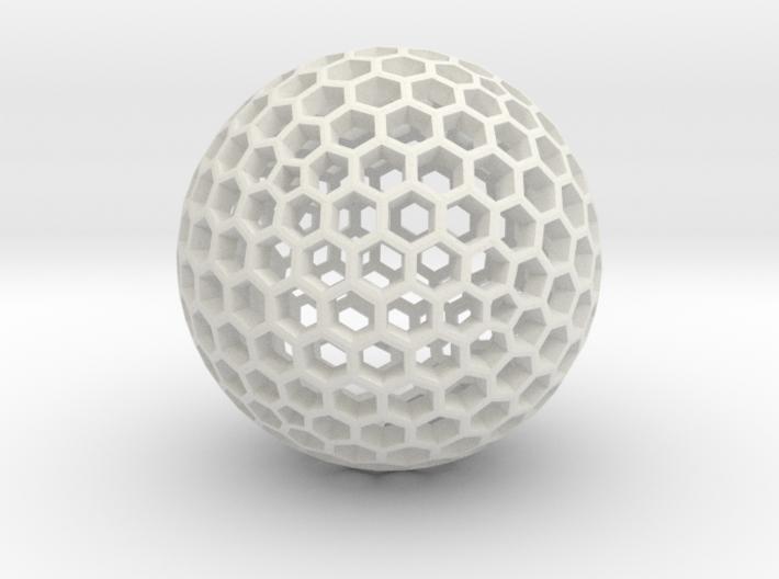 Dual Geodesic Icosahedron 11 3d printed