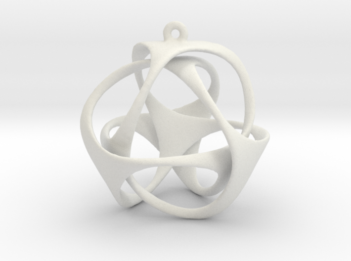 Triloop Pendant 3d printed