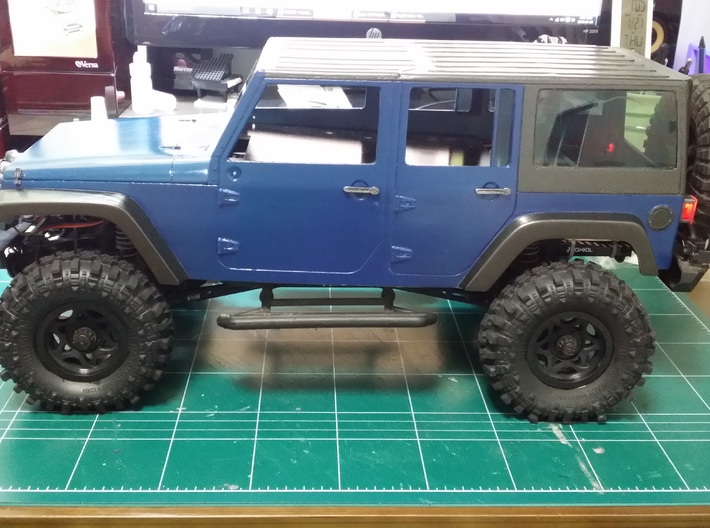 1:10 Scale RC rubicon body part 1/13 3d printed