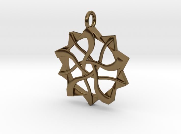 Diametric Arts Logo 3d printed