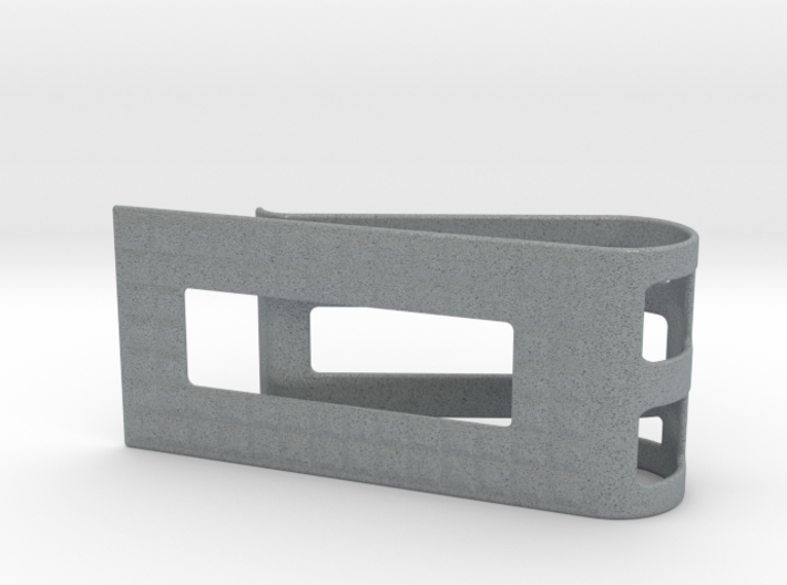 Square Pattern Money Clip 1 3d printed