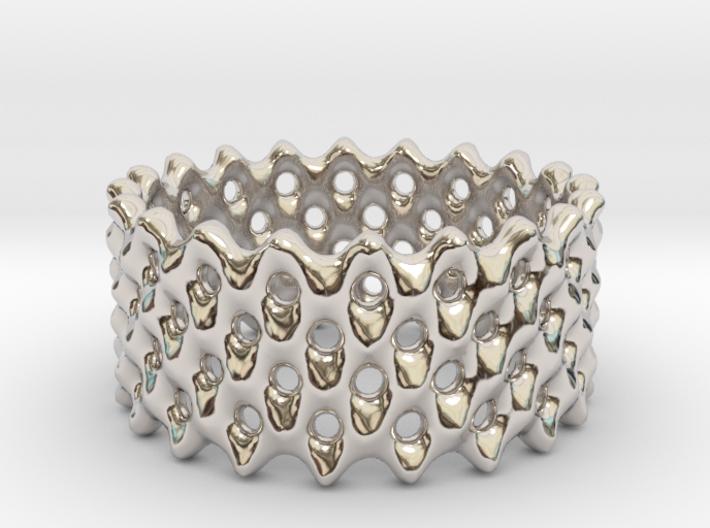 Lattice Ring No.2 3d printed