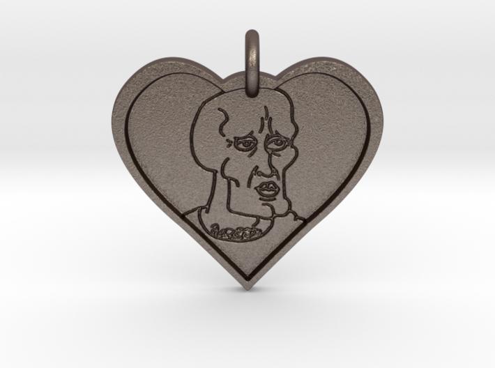 Handsome Squidward Pendant 3d printed