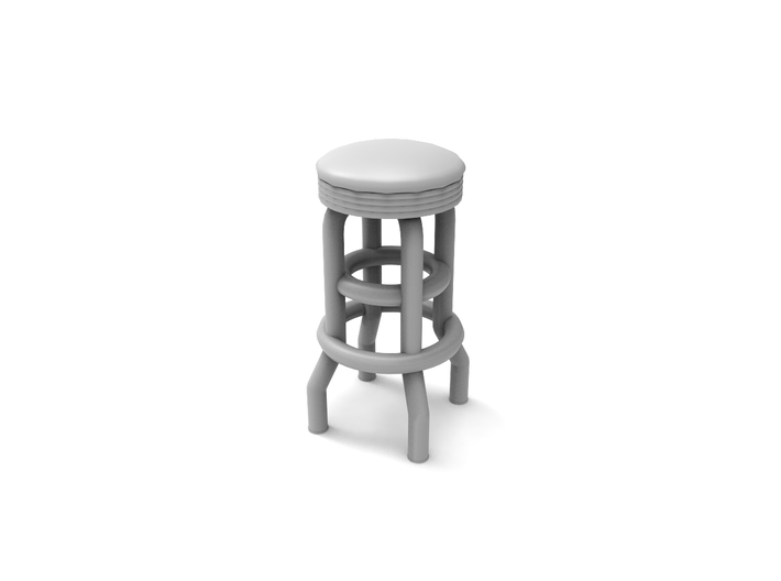 Fantastic 50S Soda Fountain Bar Stool 02 Ho Scale 1 87 Alphanode Cool Chair Designs And Ideas Alphanodeonline